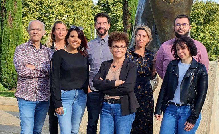 équipe du pôle autonomie santé