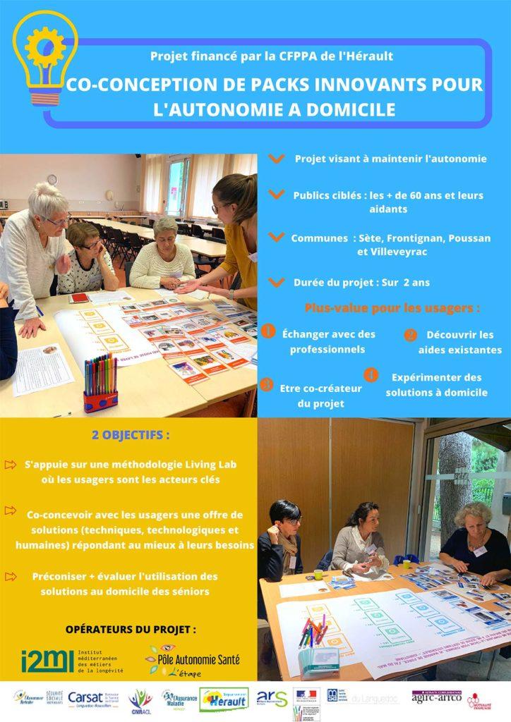 Projet CFPPA de l'Hérault: Co-conception de packs innovants pour l'autonomie à domicile