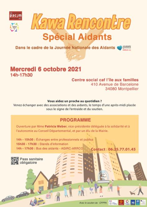 journée nationale des aidants 06 octobre 2021 Montpellier collectif des aidants 34